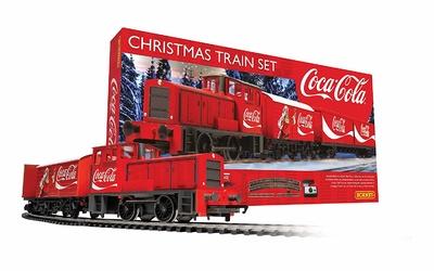 Set Tren Eléctrico Navidad de Coca-Cola, Hornby