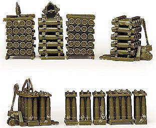 Set de munición de artilleria