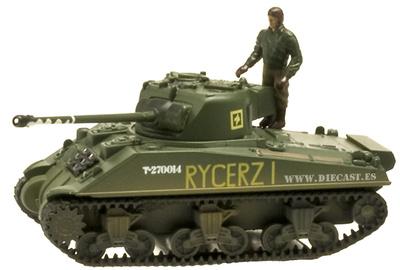 Sherman Firefly, Polish 1st Armoured Division, 1:72, Aoshima
