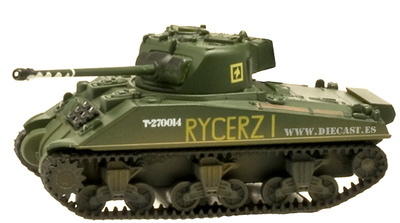 Sherman Firefly, Polish 1st Armoured Division, 1945, 1:72, Amercom