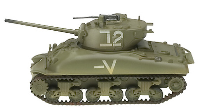 Sherman M4A1(76)W, Israeli Armoured Brigade, 1:72, Easy Model