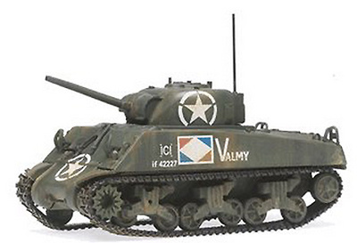 Sherman M4A2, French Army, 1:50, Corgi