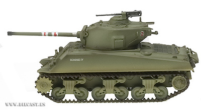 Sherman M4A3 (76)W, 4th Tank Bat., 1st Armored Division, USA, 1:72, Easy Model