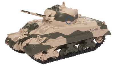 Sherman Mk III, 10th Armoured Division, US Army, 1942, 1:76, Oxford
