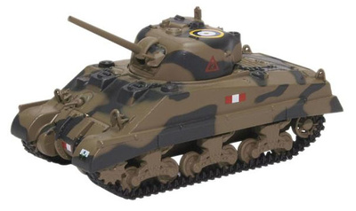 Sherman Tank, Mk III Royal Scots Greys, Italia, 1943, 1:76, Oxford