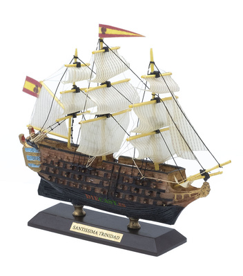 Ship of the line Santísima Trinidad, Spanish Armada, 1769, 1: 500, De Agostini