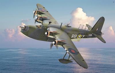 Short Sunderland Mk.III W3999/ RB-Y No.10 Squadron RAAF, 1942, 1:72, Corgi