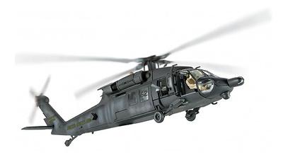 """Sikorsky MH-60L, """"Blackhawk Derribado"""" Super-Six Two, Operación Gothic Serpent, Mogadiscio, 1993, 1:72, Corgi"""