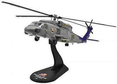 Sikorsky SH-60F Oceanhawk, USN HS-14 Chargers, USS Kitty Hawk,  2004, 1:72, Amercom