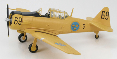 Sk.16 Harvard, Swedish Air Force, 1:72, Hobby Master
