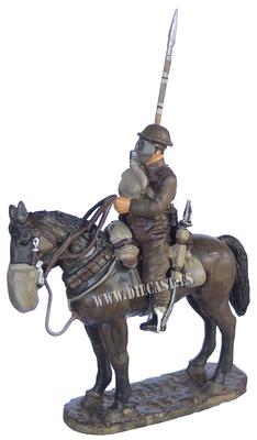 Soldado, 17º Regimiento de Lanceros, Francia, 1918, 1:30, Del Prado