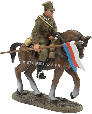 Soldado, 18º Rgto. de Lanceros Polacos, 1939, 1:30, Del Prado