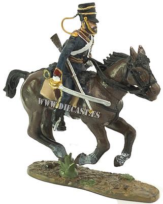 Soldado, 4º Rgto. Dragones, Brigada Ligera, Ej. Británico, Balaklava, Crimea, 1854, 1:30, Del Prado