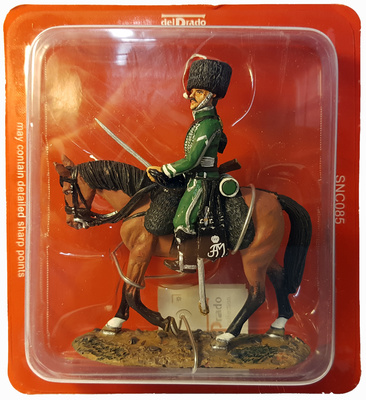 Soldado, Cazador de Nassau, 1810, 1:30, Del Prado