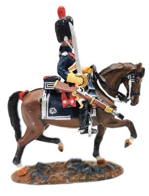 Soldado, Guardia Imperial Gendarmes de Napoleón, 1813, 1:30, Del Prado