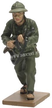 Soldado Norvietnamita, Guerra de Vietnam, 1975, 1:30, Del Prado