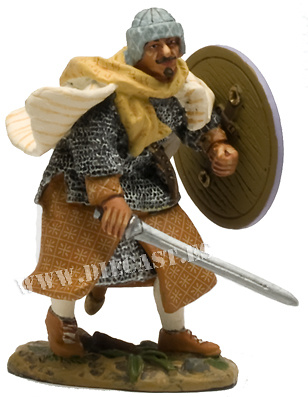 Soldado Omeya, España, Siglo VIII, 1:30, Del Prado
