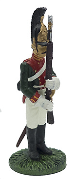 Soldado Regto. Guardia Dragones, uniforme de gala, 1812, 1:32, Eaglemoss