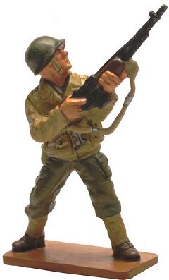 Soldado Tirador de los Rangers, USA, Point du Hoc, 1944, 1:30, Del Prado