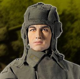 Soldado Volodya Antonovich Bukayev, Tanquista de la 133 Brigada de Tanques, Stalingrado, 1942, 1:6, Dragon Figures