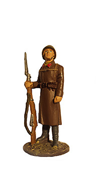 Soldado de División de Infantería, Ejército Soviético, 1941, 1:32, Eaglemoss