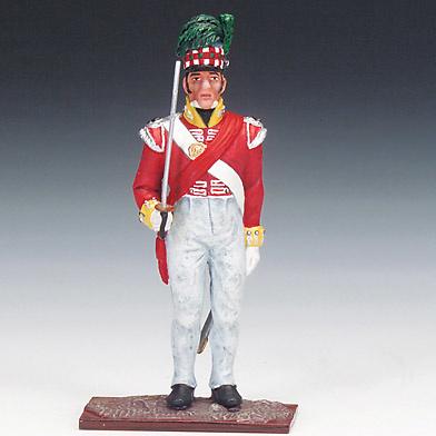 Soldado de Infantería Británico, Rgto. 79 Cameron, Highlanders, 1815, 1:24, Schuco