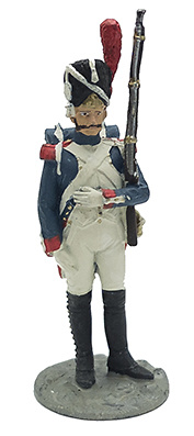 Soldado de la 1ª División de Infantería, Granadero del Ejército Imperial, 1812, 1:32, Eaglemoss