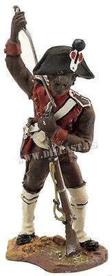 Soldado del Batallón de Pioneros Negros, 1804, 1:30, Hobby & Work