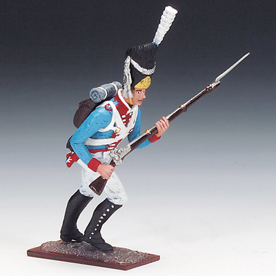 Soldado del Ejército Bávaro, 1815, 1:24, Schuco
