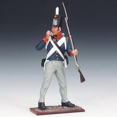 Soldado del Ejército Holandés, Milicia Nacional, 1815, 1:24, Schuco