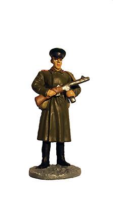 Soldado del Ejército Rojo con uniforme de invierno, Ejército Soviético, 1943-1945, 1:32, Eaglemoss