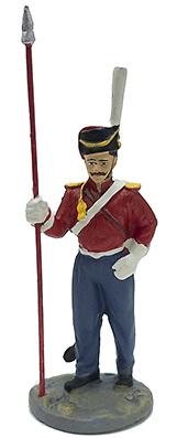 Soldado del Regimiento de Cosacos, 1812, 1:32, Eaglemoss