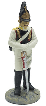 Soldado del Rgto. de Coraceros Astrakhan, 1812, 1:32, Eaglemoss