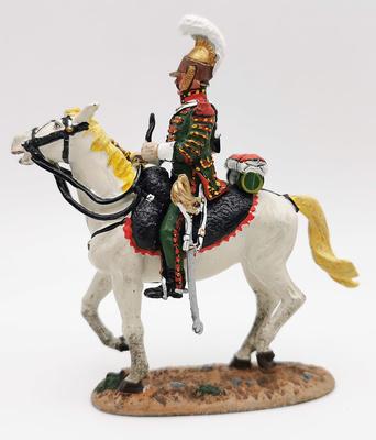 Soldado francés a caballo regimiento de lanceros, 1812, 1:30, Del Prado