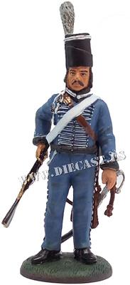 Soldado prusiano, Regimiento de Húsares No. 7, 1806, 1:30, Del Prado