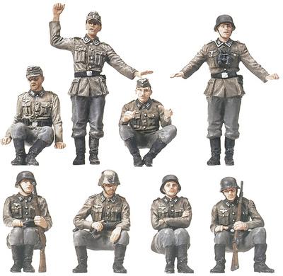Soldados de Infantería Motorizada (20 unidades), 1:87, Preiser