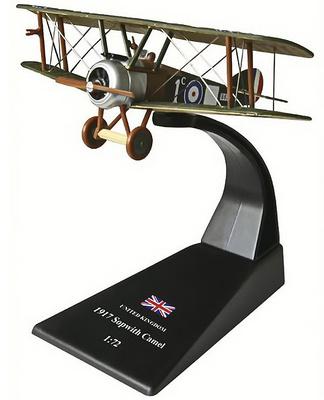 Sopwith Camel, Reino Unido, 1917, 1:72, Amercom