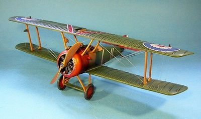 Sopwith Camel B7270 No. 209 Sqn, Bertangles, Cuerpo Aéreo Real, Abril, 1918, 1:30, John Jenkins