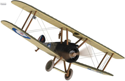 Sopwith Camel F.1 B6313, Major William George 'Billy' Barker RAF, 1:48, Corgi