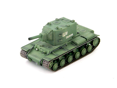 Soviet KV-2 Tank unknown unit WWII, 1:72, Hobby Master