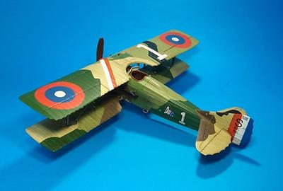 Spad XIII S.4523, Capitán E.V. Rickenbacker, 94th Aero Squ. USAS, Verano, 1918, 1:30, John Jenkins