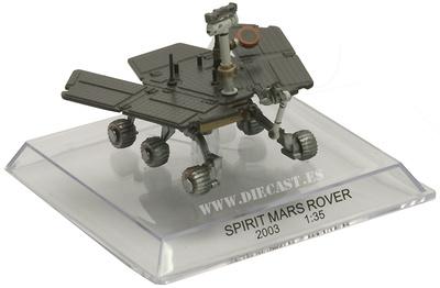 Spirit Mars Rover, 2003, 1:35, Del Prado