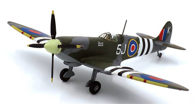 Spitfire MK IXC LDR, Johnny Plagis, RAF No.126th Squadron, Junio, 1944, 1:72, JC Wings