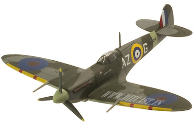 Spitfire MK.Vb, UK; 1:72, Altaya