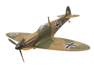 Spitfire MKI N3277 capturado por la Luftwaffe, Alemania, 1940, 1:72, Oxford