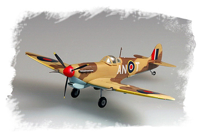 Spitfire MKV/TROP, RAF 417 Sqn, 1942, Easy Model
