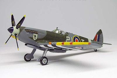 Spitfire Mk IX, RCAF No.443 (Hornet) Sqn, RAF Croix-sur-Mer, Francia, 1944, 1:72, Gemini Aces