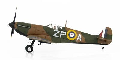 Spitfire Mk.I K9953/ZP-A, Flt. Lt. Adolph Malan, 74º Escuadrón, Hornchurch, 1940, 1:48, Hobby Master
