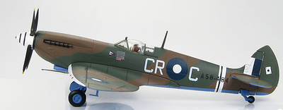 Spitfire Mk.VIII A58-484, Group Captain Clive Caldwell RAAF, Morotai 1944, 1:48, Hobby Master