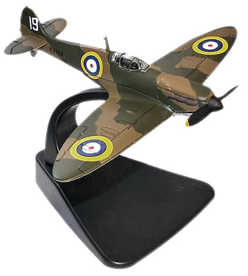 Spitfire MkI - Pre-WWII. 19 Squadron, Henry Cozens, Agosto, 1938, 1:72, Oxford